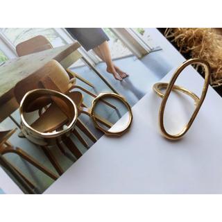 ゴールドリング 3セット(リング(指輪))