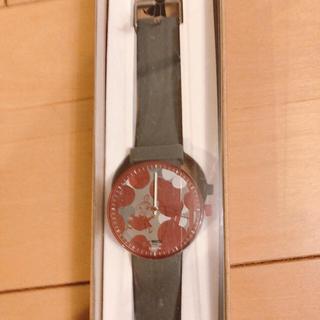ムーミン  リトルミィ 腕時計 JU'STO コラボ ダークグレー(腕時計)