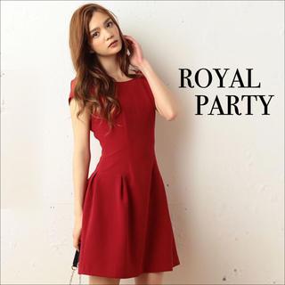 ロイヤルパーティー(ROYAL PARTY)のROYAL PARTY ボックスタック ワンピース♡デュラス DaTuRa(ミニワンピース)