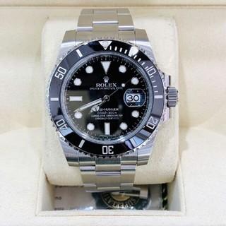 ROLEX - 機械式時計です。夜の光が透ける防水腕時計です