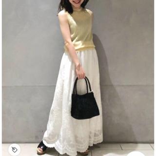 Demi-Luxe BEAMS - 完売商品✨【Demi-Luxe BEAMS】刺繍コットンスカート
