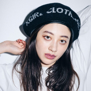 エックスガール(X-girl)のX-girl  ベレー帽(ハンチング/ベレー帽)