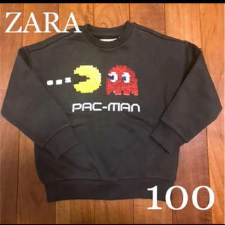 ZARA KIDS - ZARA ザラ パックマンスパンコールスウェット 100-110 トレーナー