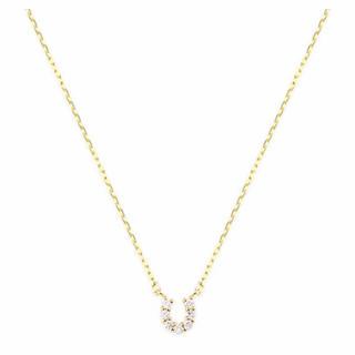 JEWELRY TSUTSUMI - K10 イエローゴールド ダイヤモンドネックレス