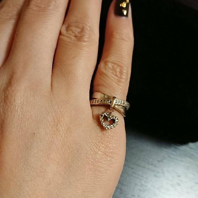 小太郎様専用!K18WG  ダイヤ 指輪 レディースのアクセサリー(リング(指輪))の商品写真