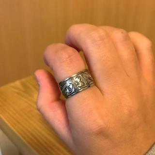 ハワイアンジュエリー 幅10ミリ シルバーリング(リング(指輪))