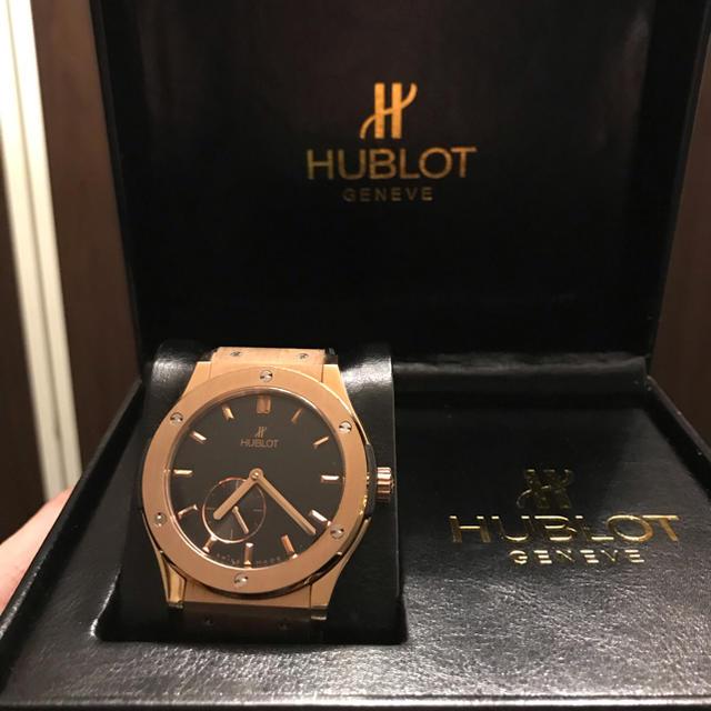 コメ兵 時計 �物 574 / HUBLOT - よ��ゃん様専用 HUBLOT自動巻�ウブロ H製�通販 by Oggichiuso's shop