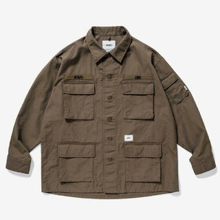 W)taps - 19aw wtaps JUNGLE LS /SHIRT  Mサイズ