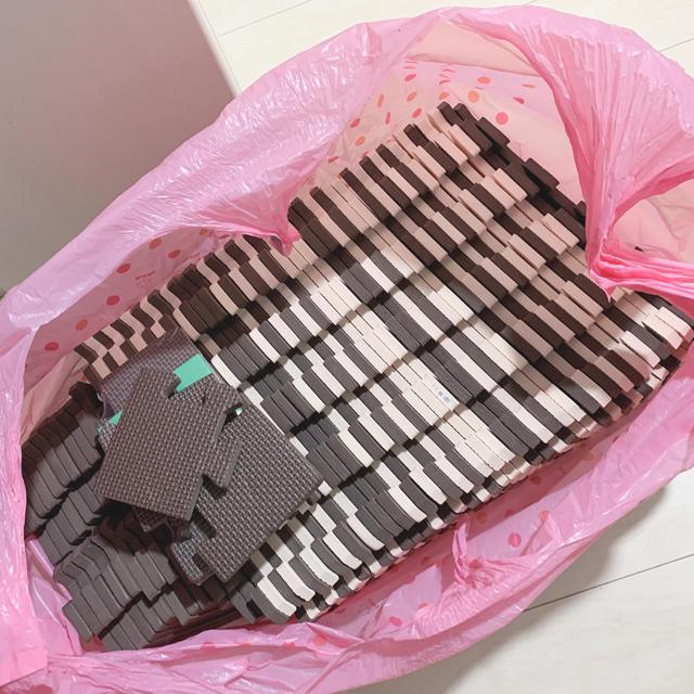 西松屋(ニシマツヤ)のジョイントマットセット キッズ/ベビー/マタニティの寝具/家具(フロアマット)の商品写真