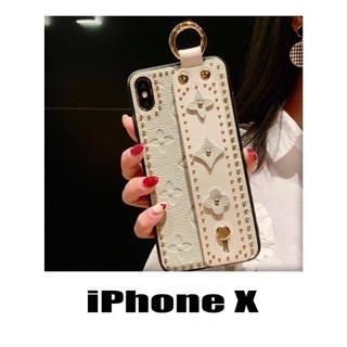 花柄 レザー iPhoneX/XS iPhoneケース カバー お洒落