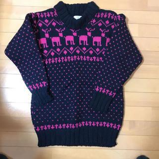 ビームス(BEAMS)のセーター サイズM  古着 ビンテージ(ニット/セーター)