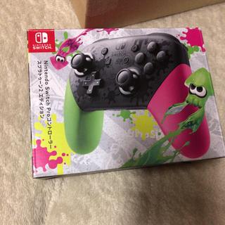 Nintendo Switch - NINTENDO Switch プロコントローラー スプラトゥーンカラー