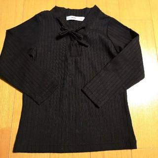 エムピーエス(MPS)のMPS 黒 長袖カットソー(Tシャツ/カットソー)