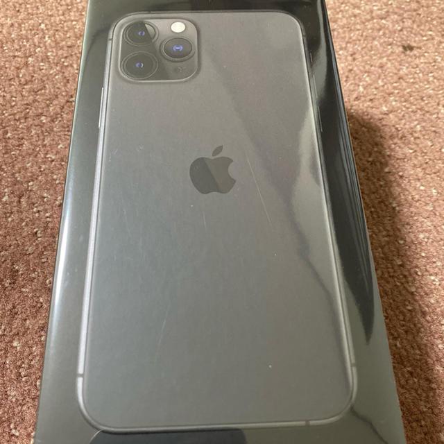 Apple(アップル)の香港版 iPhone11 PRO 256GB SPACE GLAYシムフリー スマホ/家電/カメラのスマートフォン/携帯電話(スマートフォン本体)の商品写真