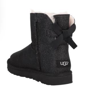 アグ(UGG)の【本日限定出品】新品 UGG AUSTRALIA ブラックショートブーツ(ブーツ)