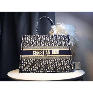 Dior - ディオール  ブルー 美品 トートバッグ 未使用