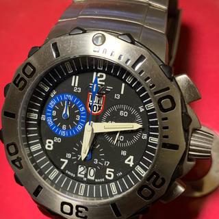 ルミノックス(Luminox)の定価9万7000 ルミノックス  ファイティングファルコンクロノグラフパイロット(腕時計(アナログ))