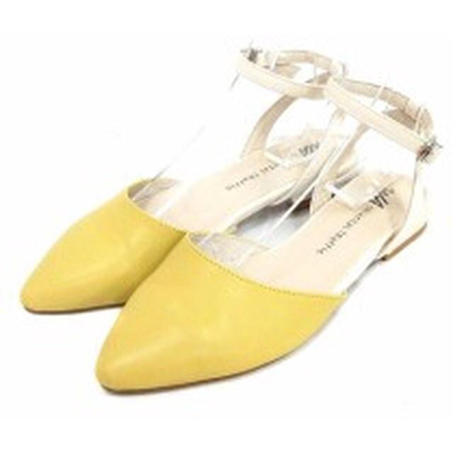 ORiental TRaffic(オリエンタルトラフィック)のオリエンタルトラフィック サンダル パンプス 25cm LL イエロー 黄色 レディースの靴/シューズ(ハイヒール/パンプス)の商品写真
