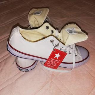 コンバース(CONVERSE)のホワイトコンパース靴(スニーカー)