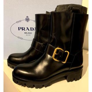 プラダ(PRADA)の定価17万❤️新品・未使用 PRADA エンジニア ブーツ(ブーツ)