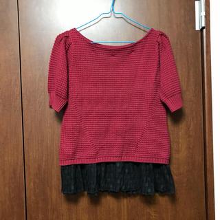 トランテアンソンドゥモード(31 Sons de mode)の半袖ニット(ニット/セーター)