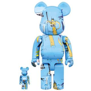 メディコムトイ(MEDICOM TOY)のBE@RBRICK JEAN-MICHIEL BASQUIAT 400% 100(その他)