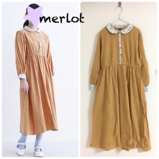 merlot - 新品merlot 麦畑ワンピース