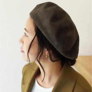 トゥデイフル(TODAYFUL)のtodayfull ベレー帽 アオイ様専用!!!!(ハンチング/ベレー帽)