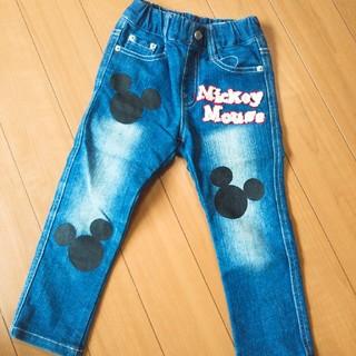 Disney - ミッキー デニム ボトム ディズニー