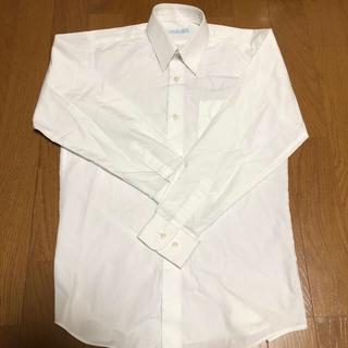 白い長袖ワイシャツ#140