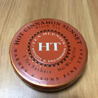 HARNEY & SONS ホットシナモンサンセット 紅茶 ミニ缶