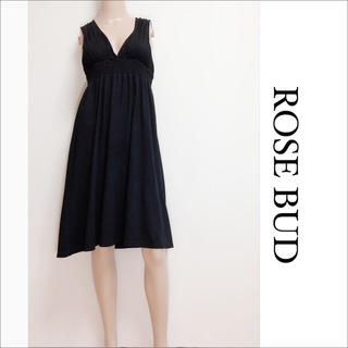 ROSE BUD - ROSE BUD V開き ひざ丈 ワンピース♡イエナ セオリー ships ザラ