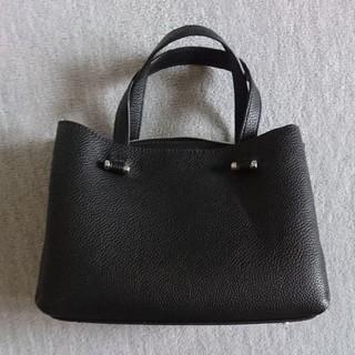 ZARA - ZARA★ZARA BASIC ハンドバッグ ブラック