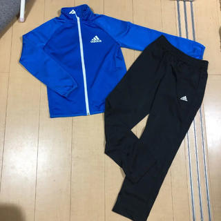adidas - adidas アディダス ジャージ 上下 キッズ 140㎝ セット