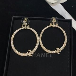 シャネル(CHANEL)のシャネルCHANEL レディース ピアス 超美品 刻印 ファッション(ピアス)