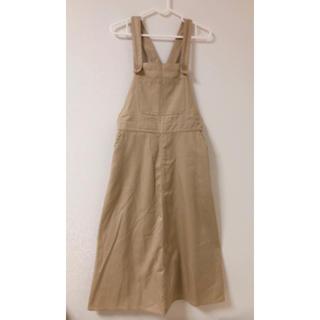 サマンサモスモス(SM2)のサロペット スカート(サロペット/オーバーオール)