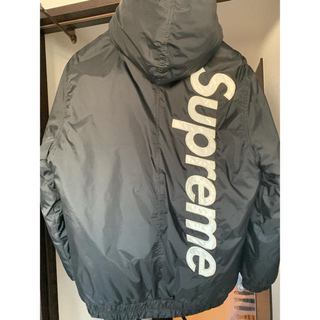 Supreme - supreme 2tone fooded sideline jacket