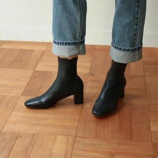 トゥデイフル(TODAYFUL)のTODAYFUL 完売 Ankle Stretch Boots ブーツ 37(ブーツ)