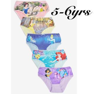 NEXT - 新作❁新品・size 5-6yrs❁Disney プリンセス ショーツ 5枚組