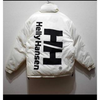 HELLY HANSEN - ヘリーハンセンHELLY HANSENリバーシブルダウンジャケット黒白 90s