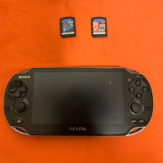 PlayStation Vita - PCH-1100 ps vita ソフト付き