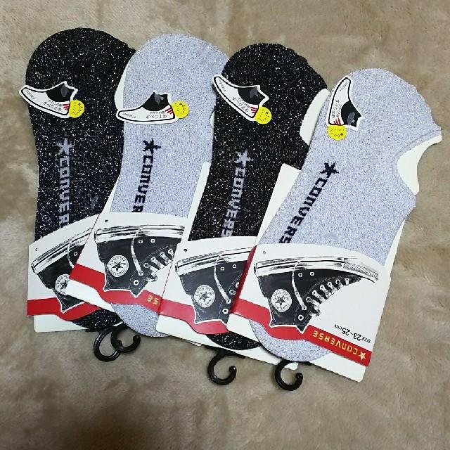 CONVERSE(コンバース)の新品 CONVERSE コンバース 靴下 レディースのレッグウェア(ソックス)の商品写真
