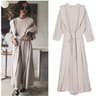 Ameri VINTAGE - 【美品】アメリヴィンテージ FRONT PLEATS LONG DRESS