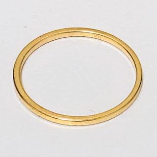 k18 シンプルなデザインのリング