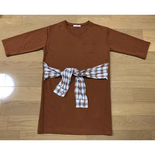 ダブルクローゼット(w closet)のロンT(Tシャツ(長袖/七分))