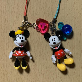Disney - ディズニー ストラップ ペア