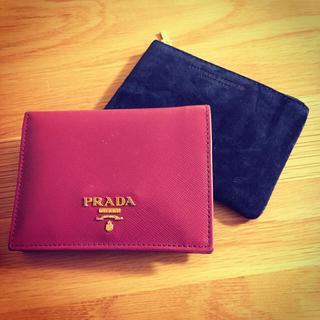 プラダ(PRADA)のミニウォレット 極小財布 (財布)