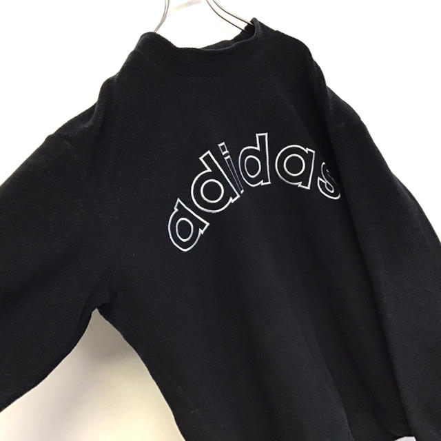 adidas(アディダス)の美品 90's adidas フリース プルオーバー トレーナー メンズのトップス(スウェット)の商品写真