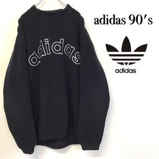 adidas - 美品 90's adidas フリース プルオーバー トレーナー