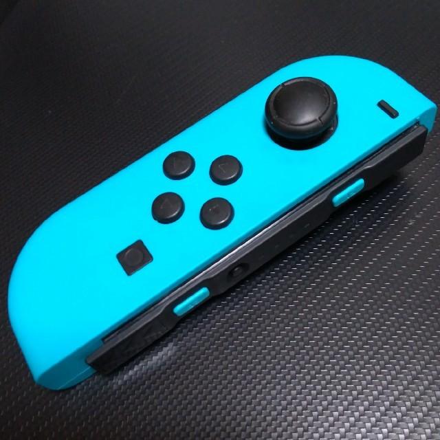 Nintendo Switch(ニンテンドースイッチ)のニンテンドースイッチ ジョイコン左 ネオンブルー 動作良好 修理品 中古品 R3 エンタメ/ホビーのゲームソフト/ゲーム機本体(家庭用ゲーム機本体)の商品写真